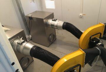 Установка системы наддува токопроводов (СНТ) фото
